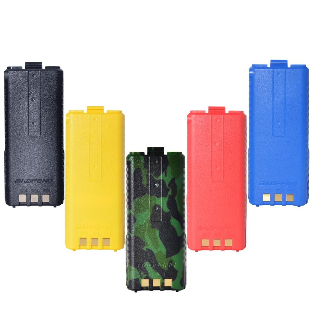 imágenes para Baofeng UV-5R 3800 mAh batteryWalkie accesorios walkie Talkie de Baofeng UV-5R Radio de Dos Vías Walkie Talkie