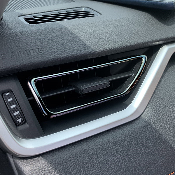 JY Stainless Steel Air Vent Outlet Trim Cover Car Styling Accessories For Toyota Rav4 V XA50 2019 Up