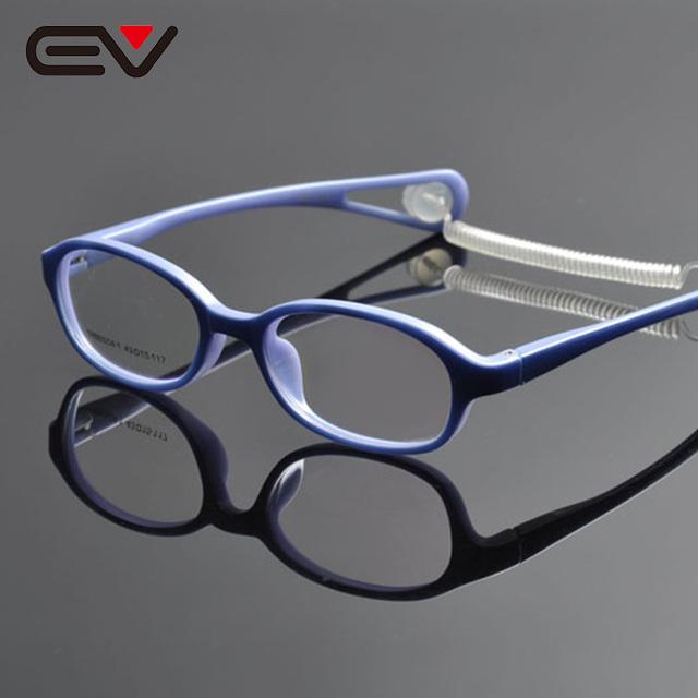 Очки кадров для детей lentes opticos оптические frame очковая оправа спорт óculos грау óculos де грау feminino EV1064