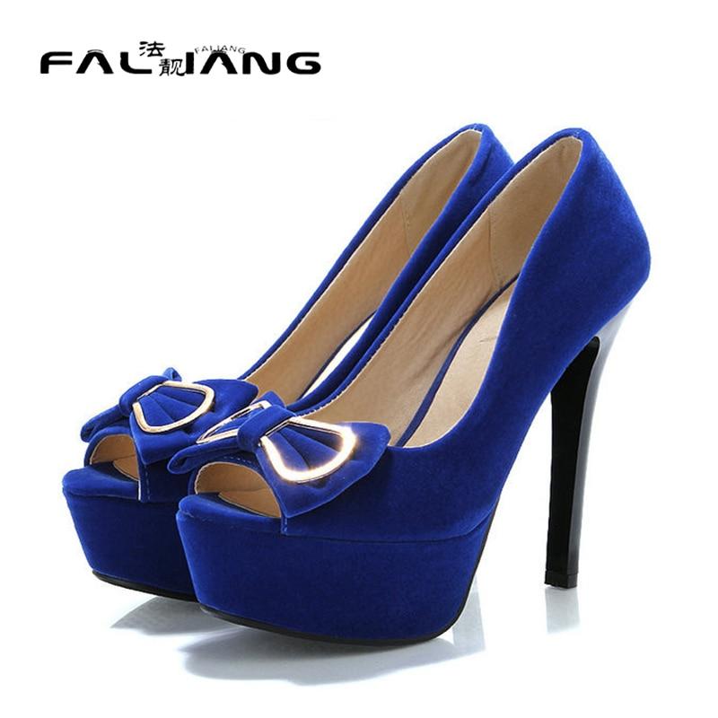 ФОТО 2017 New Fashion Peep Toe Pumps shoes women's shoes High heels Platform ladies Shoes and wedding pumps