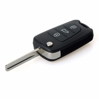 3 Buttons Flip Folding Remote Key Fit For Hyundai Ix35 Car Key Fob 433MHz ID46 Chip