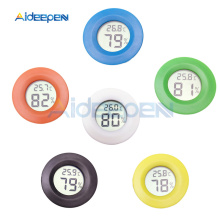 Мини-термометр гигрометр ЖК-цифровой датчик измерителя температуры и влажности тестер морозильника датчик температуры в помещении