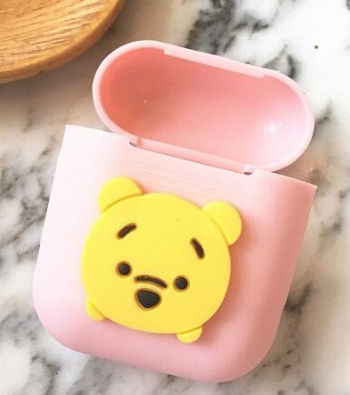 Cute Cartoon Soft Silicone AirPod Case Cover 2