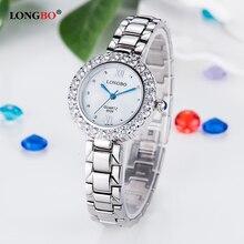 Women's watch LONGBO luxury brand fashion Quartz Watch gold bracelet women's wristwatch ladies Hodinky clock Reloj Mujer + box passed longbo quartz 8701a page 2