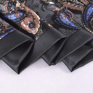 Image 5 - BYSIFA גברים משי ארוך צעיפים חדשים אופנה 100% משי טהור זכר פייזלי משי צעיף אופנה אביזרי עסקים צעיפי 160*26cm
