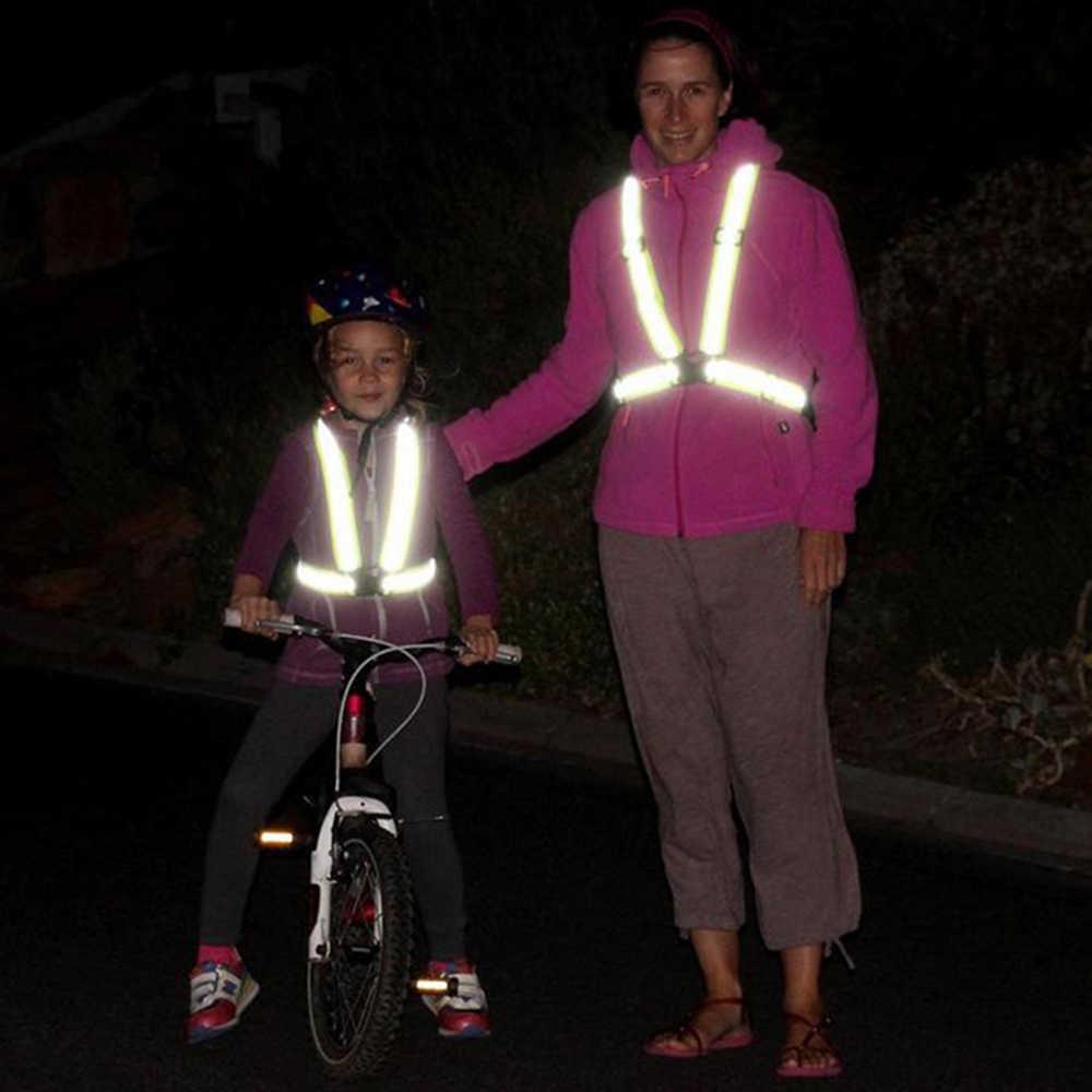 Reflektierende jacke reflektierende sicherheits weste Für Motorrad Reiten fahrrad Schutz Ausrüstung Hohe helligkeit Wasserdicht