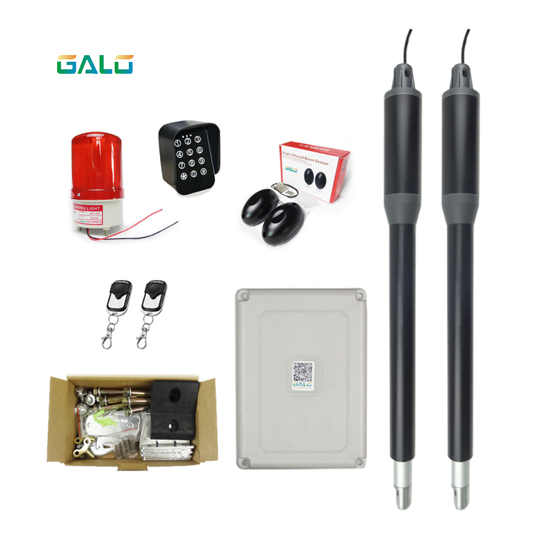 Linear Actuator Dual 24vdc Swing Gate Opener Motor Operator Accessories Kit Optional/swing Gates Automatic