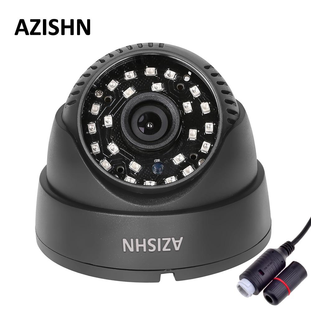 AZISHN IP Camera POE 720P/960P/1080P 24pcs Laser IR LEDS Indoor Dome Security CCTV Surveillance ONVIF 2.0 P2P IR Cut POE Cable 1080p 2 0mp 960p 1 3mp 720p 1 0mp 4led ir dome ip camera indoor cctv camera onvif night vision p2p ip security cam ir cut 2 8mm