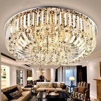 Светодиодные Кристалл Потолочный светильник plafoniere lampare TECHO салон для дома светодиодный потолочный светильник декора Фонари Lampara TECHO Salon