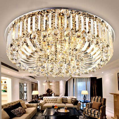 LED Crystal Ceiling Light Plafoniere Lampare Techo Salon Light For Home LED Ceiling Lamp Dcor Lantern Lampara Techo Salon