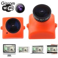 Gizcam Portable Mini Camera Micro Cam Monitor Aerial photography Wide angle HD Home Safe FPV Camcorder