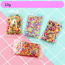 10g Mini Sprinkles Decoration For Slime Filler DIY Slime Artificial Cake Dessert Clay Phone Case Toys(China)