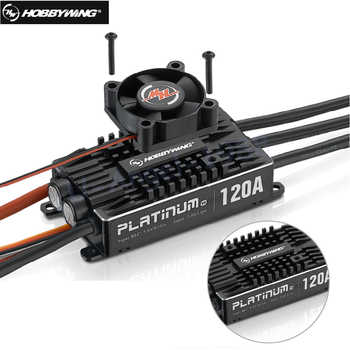 Original Hobbywing Platinum Pro V4 120A 3-6S Lipo BEC Empty Mold Brushless ESC for RC Drone Aircraft Helicopter - DISCOUNT ITEM  0% OFF All Category
