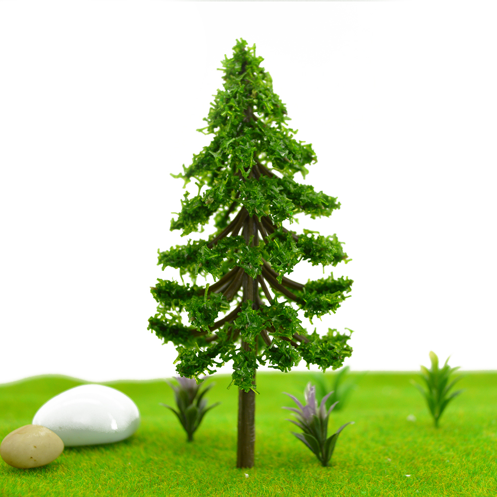 9cm Scale Green Lant Tree For Scenery Landscape P Scenery Model Scale Trees For Sand Table Decaration DIY Kits in Model Building Kits from Toys Hobbies