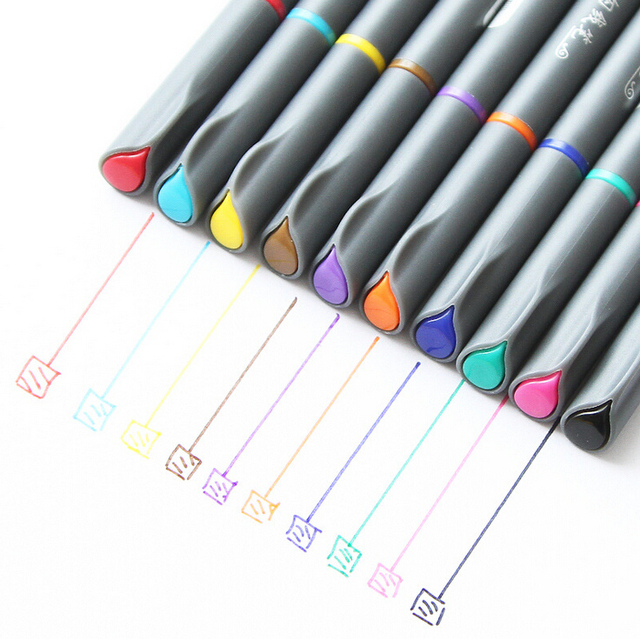 0.38mm Creativo Multicolore Penna Inchiostro Gel Regalo Promozionale Cancelleria Forniture Per Ufficio Scuola