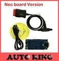 Com chip Nec board versão! (2015.1 software) do carro obd2 scanner tcs CDP Pro Plus Para carros e caminhões não bluetooth
