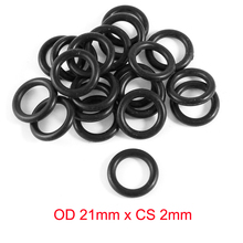OD21mm*CS2mm NBR rubber o ring gasket seal free freight