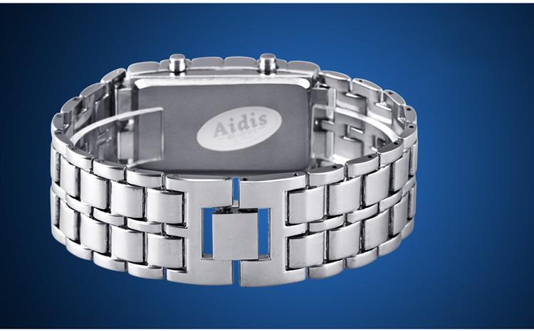 Aidis youth sports watches waterproof electronic second generation binary LED digital men's watch alloy wrist strap watch 33