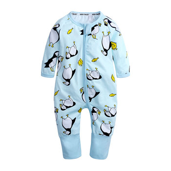Zipper Baby Clothes Fashion Newborn Baby Boy Girl Romper Clothing Cute Print New Newborn jumpsuits Long Sleeve Infant Product