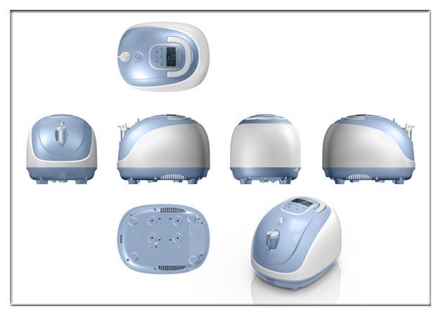 Портативный концентратор кислорода W/анион и инфракрасный пульт дистанционного управления 1L 3L 5L кислородный бар для дома забота о здоровье