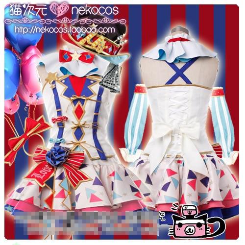 אנימה cosplay lovelive! Honoka Kotori Umi אלי נוזומי - תחפושות