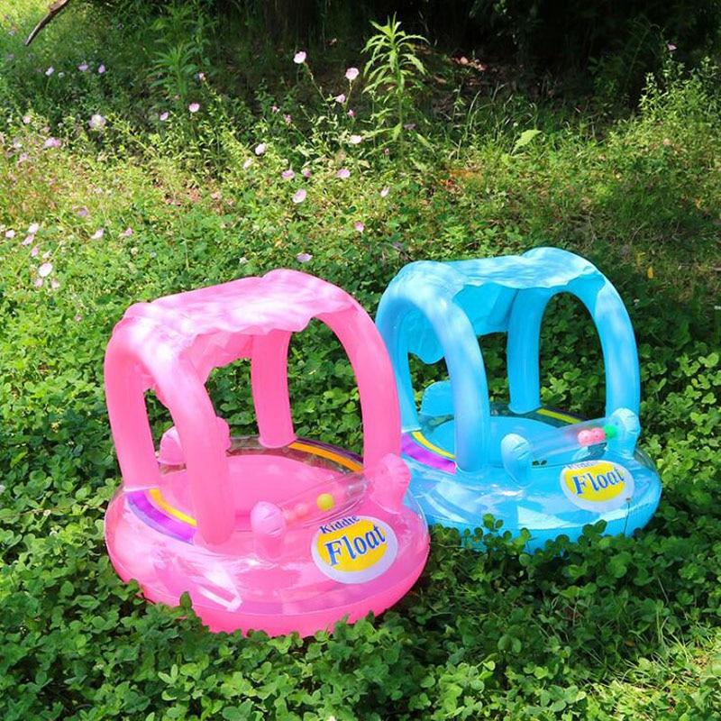 New Awning Baby Seat Baby Swim Ring Toys