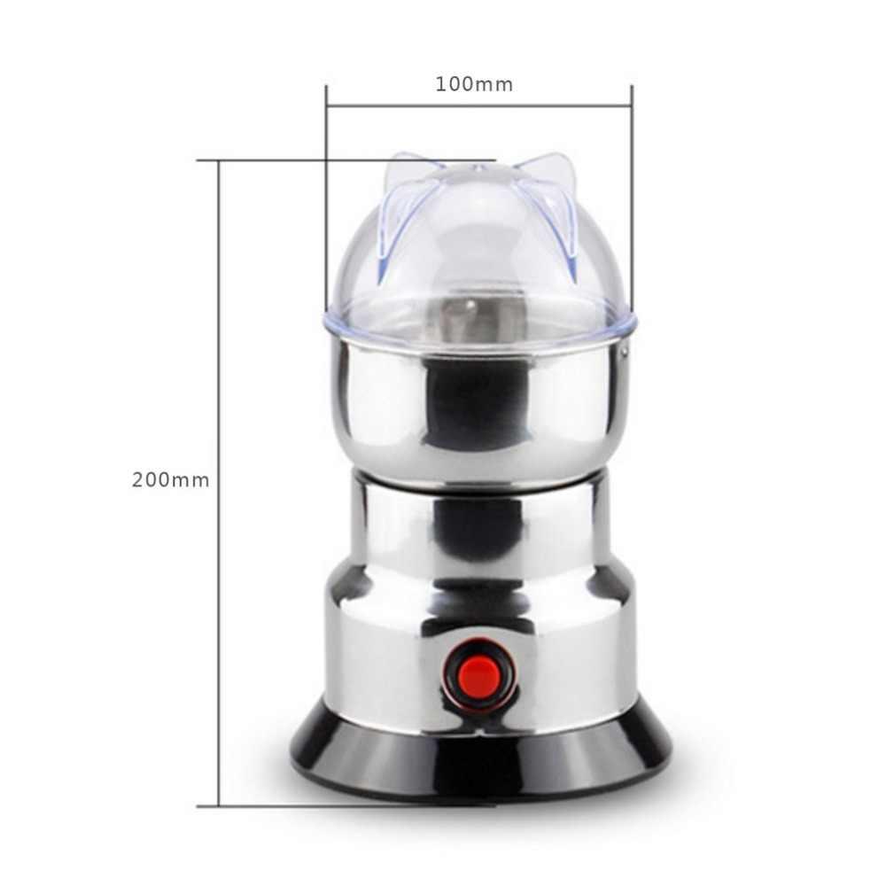 Multi Gebruik Elektrische Kruiden/Specerijen/Noten/Koffieboon Molen Blade Grinder Met Roestvrijstalen Messen Huishouden Slijpen machine Tool