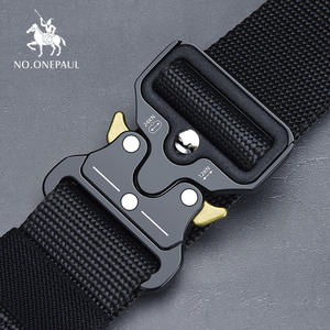 NO.ONEPAUL Tactical-Belt Buckle Sports-Hook Nylon Military Metal Outdoor Men's High-Quality