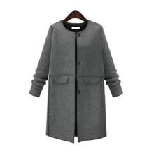Women's windbreaker solid color long-sleeved hooded long coat outdoor casual jacket drawstring slim women's coat