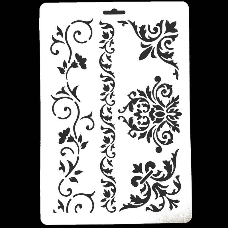 DIY Craft Stencils For Walls Painting Inkjet Scrapbooking Stamping Stamp Album Decorative Embossing Paper Card letter Template