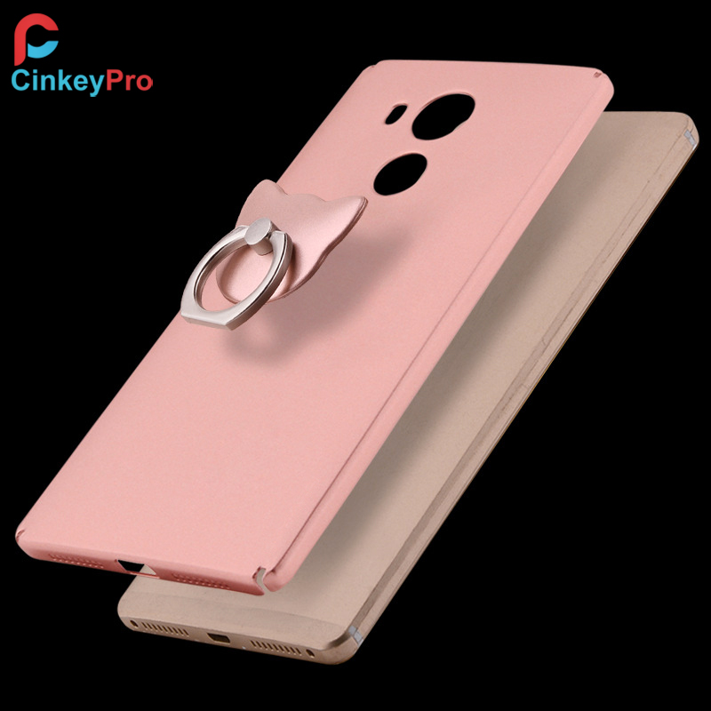 new york 09a7c db8b8 US $4.4 |For HUAWEI Mate 8 Case Luxury Ring Holder Back Cover Hardness PC  Housing Mate8 Plastic Mobile phone Accessories Cases CinkeyPro on ...