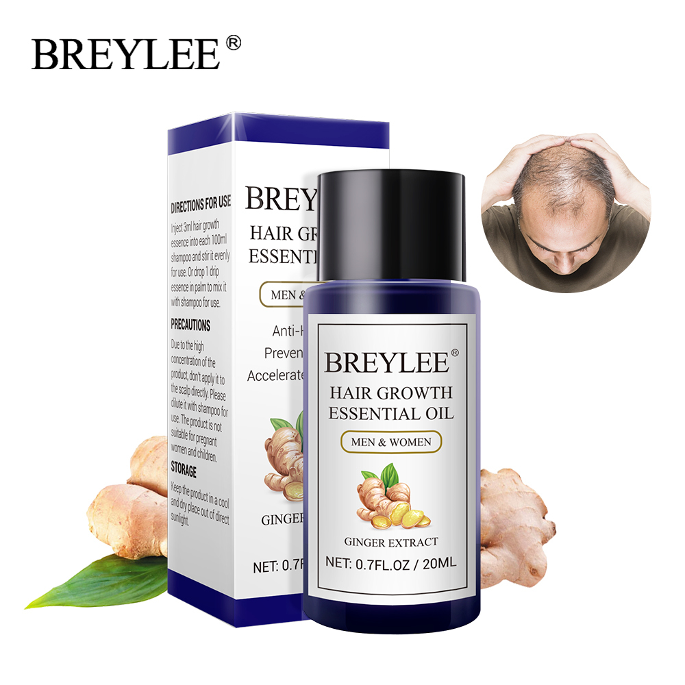 BREYLEE Hair Growth Essential Oil 20ml Fast Powerf