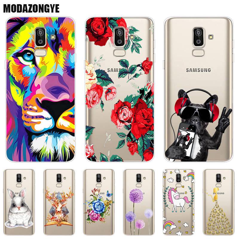 Case For Samsung Galaxy J8 2018 Phone Case Samsung J8 2018 Cover Samsung Galaxy J8 2018 j810 j810f Case Silicone Soft TPU 6.0