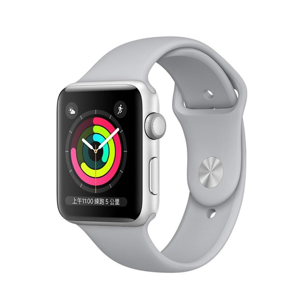 Apple watch series 3. | mulher e homem smartwatch gps tracker apple smart watch band 38mm 42mm dispositivos wearable inteligentes