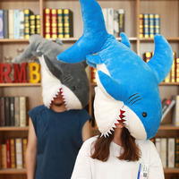 Nooer 90cm Soft Plush Toys Girls Stuffed Toy Shark Kids Children Toys Marine Animal Reading Pillow for Birthday Christmas Gifts