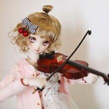 D01-P274, детская игрушка ручной работы, 1/3, 1/4, 1/6, аксессуары для кукол, BJD/SD, кукла, музыкальный инструмент, скрипка, чехол для скрипки