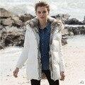 Mulheres jaqueta de inverno casaco casaco marca de moda Agradável novo estilo tamanho grande com capuz pato branco quente longas jaquetas e casacos AW1158