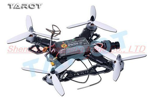 F15866 Tarot Mini 200 QAV Quadcopter TL200B Frame Kits With Camera/Motor/Propeller for FPV Photography