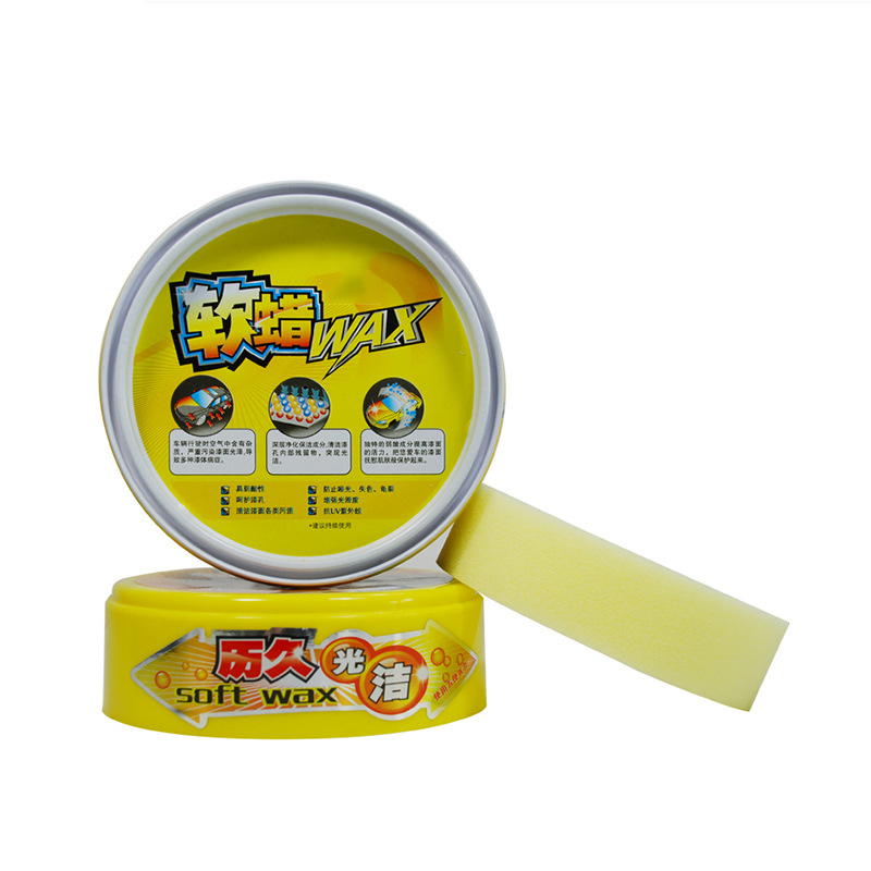 Automobile Paint Care Soft Wax AutoCare Premium Vehicle Wax Polishing Surface Coating Free Sponge Scratch Repair Maintenance