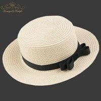 2018 Marka hot sprzedaż Lato słomy kapelusz Słońce dla dzieci Plaża Słońce kapelusz Filcowy Kapelusz panama? czna dla dziewczyny Dzieci Dziecko Kapelusz Dzieci Cap