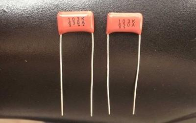 CBB Film Capacitors 630V 103J 103H 103K 0.01UF 10NF Capacitor