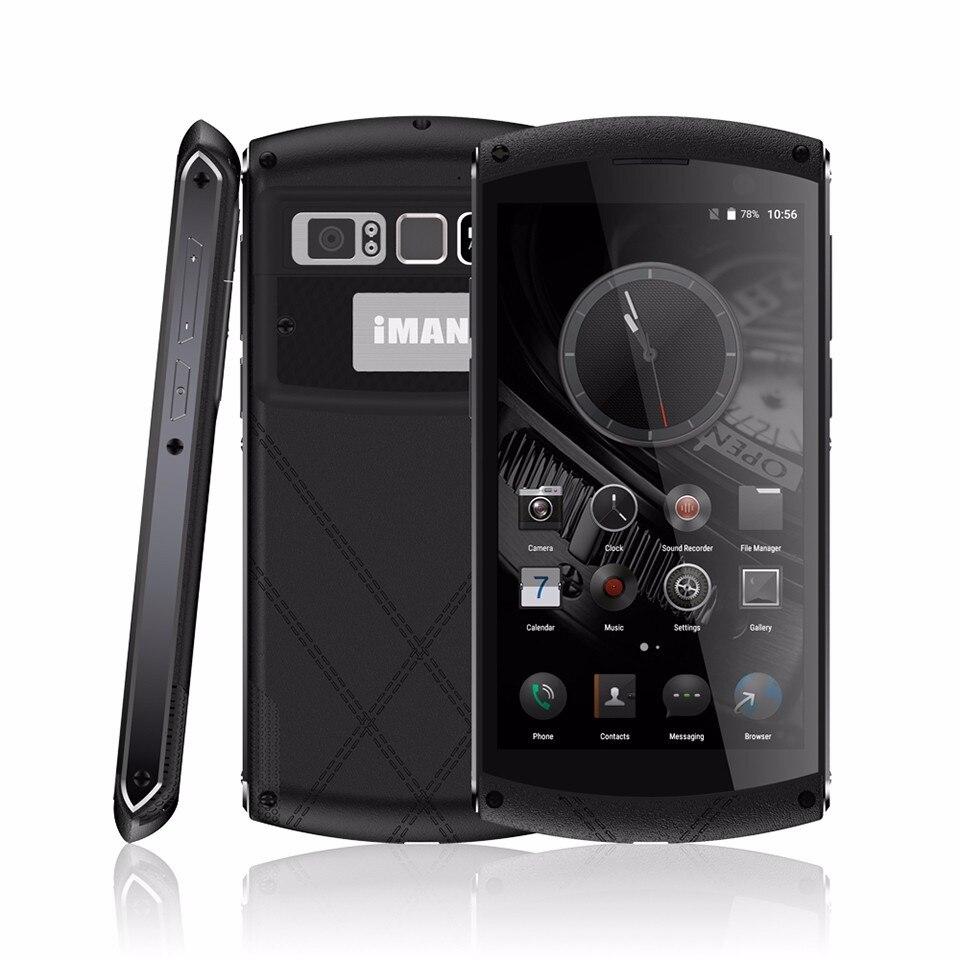 """Цена за IMAN Виктор 4 ГБ + 64 ГБ NFC IP67 Водонепроницаемый 4 Г LTE Мобильный Сотовый Телефон 5.0 """"1920x1080 MTK6755 Отпечатков Пальцев Окта основные 13MP Смартфон"""