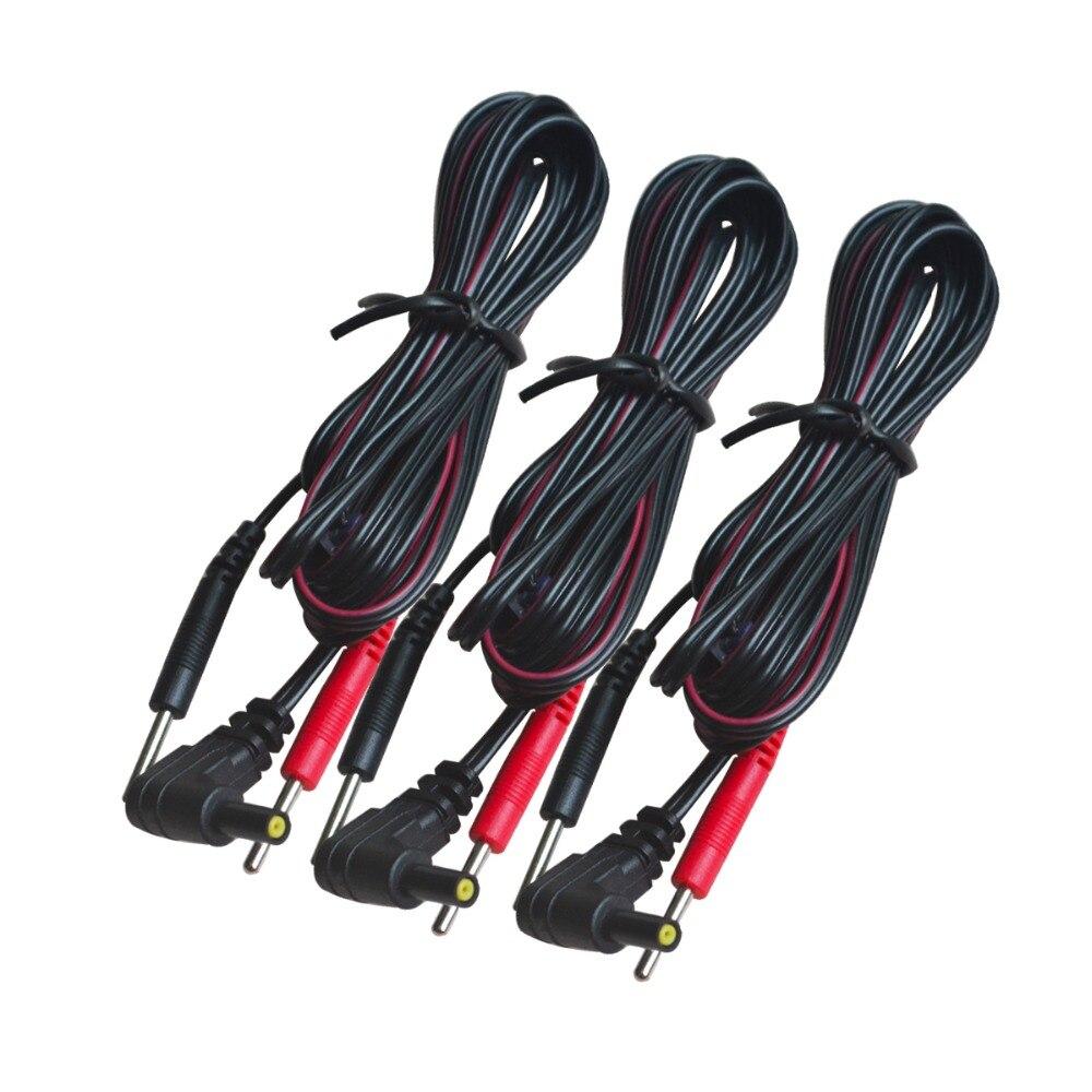 100 шт./упак. Замена электрода свинца провода подключения кабели булавки 2 мм для десятков 7000 и десятки электронных терапии машины