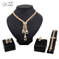2017 new Women Fashion Bridal Wedding Jewelry Sets  Gold Plated  Elegant Romantic African Costume  Dubai1314