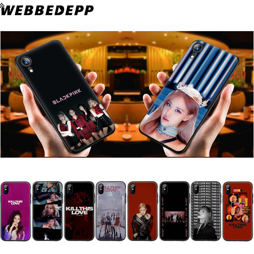 WEBBEDEPP Kill This Love Blackpink Мягкий силиконовый чехол для iPhone 11 Pro Xr Xs Max X или 10 8 7 6 6S Plus 5 5S SE чехол 8 Plus