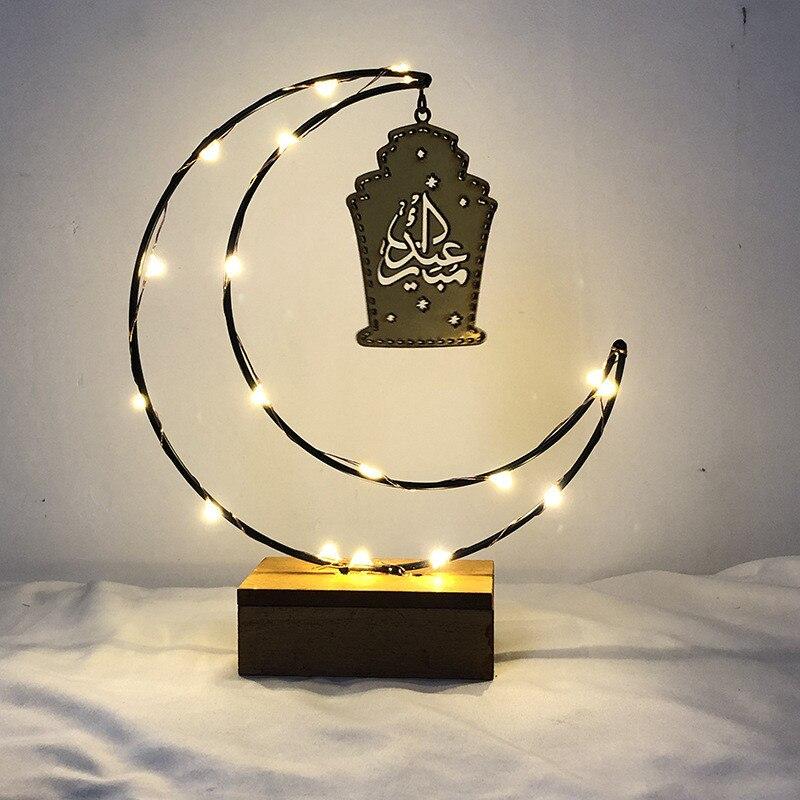 Trend Mark Ramadan Vasten Vakantie Lichten Led Moon Lights Luminaria Romantische Slaapkamer Decor Night Lamp Baby Kids Verjaardag Xmas Gift