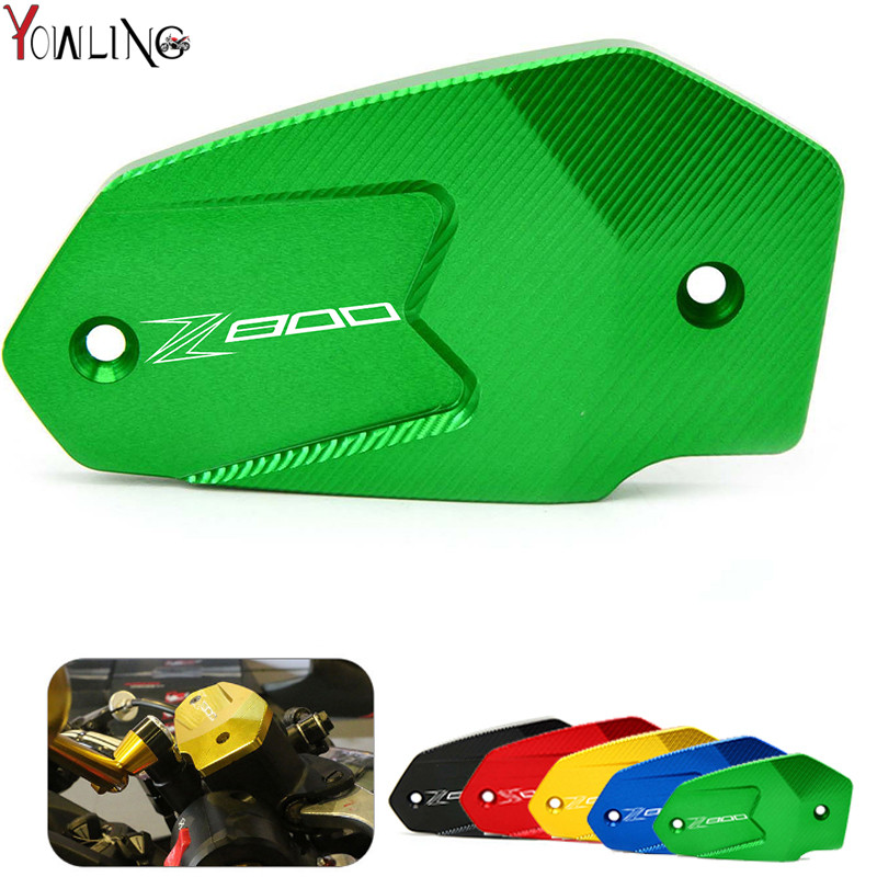 z800 logo Motorcycle Brake Fluid Reservoir Clutch Tank Oil Fluid Cup For Kawasaki Z800 2013-2016 ER6N ER6F VERSYS 650 ninja650 motorcycle brake fluid reservoir clutch tank oil fluid cup for ktm 125 200 390 duke bmw s1000rr r1200gs kawasaki er6n ninja 300