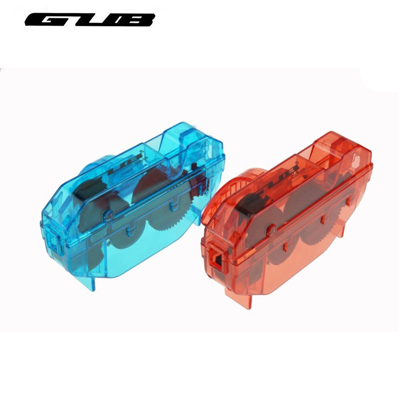 GUB Original New Portable Bicycle Chain Cleaner Bike Clean Machine Scrubber Wash Tool Mountain Cycling Cleaning Kit Free Shiping