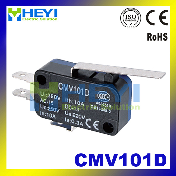 CMV101D Long handle small limit switch Momentary micro Switch