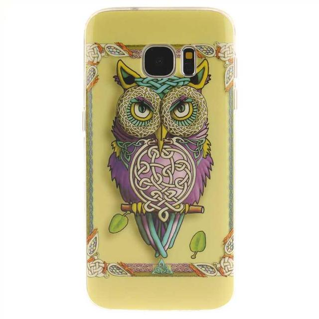 Mikoor Fashion Painted TPU Silicone Soft 5.1For Samsung Galaxy S7 Case For Samsung Galaxy S7 G9300 G930 Phone Case Cover M01